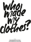 Who Made My Clothes? by Heather Knight