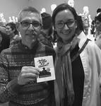 Fashion Designer Todd Oldham with RISD Senior Critic, Apparel Design Kathleen Grevers