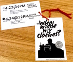 Who Made My Clothes? Hang Tags