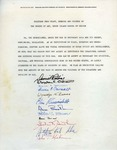 Anti-Vietnam War Petition by RISD Museum by RISD Museum and RISD Archives