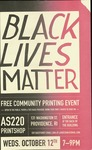 Black Lives Matter Free Community Printing Event