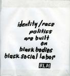 Black Lives Matter by Graphic Design Department