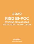 2020 RISD BI+POC Student Demands for Racial Equity & Inclusion by RISD Anti-Racism Coalition (risdARC)