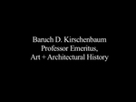 Oral History Interview with Baruch Kirschenbaum, February 2, 2006 by Baruch D. Kirschenbaum, Andrew Martinez, Al Chin, and Archives