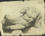 Cast Sketch by Harry A. Samoore and RISD Archives
