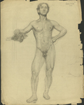 Life Drawing by Harry A. Samoore and RISD Archives