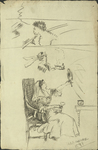 Doodles by Harry A. Samoore and RISD Archives