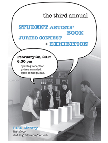 3rd Student Artists Book Contest  2017 logo