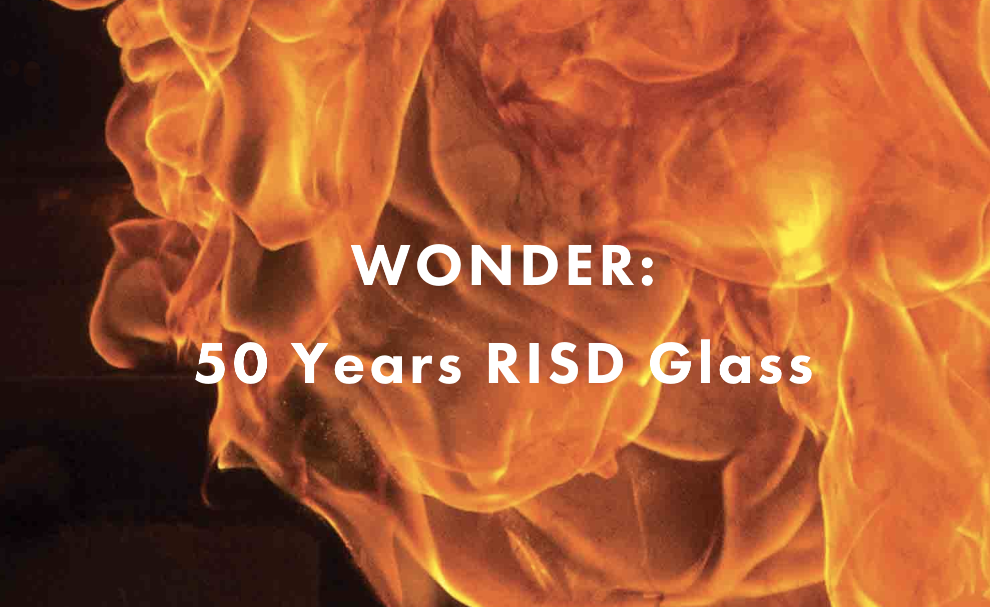 Book | Wonder: 50 Years RISD Glass