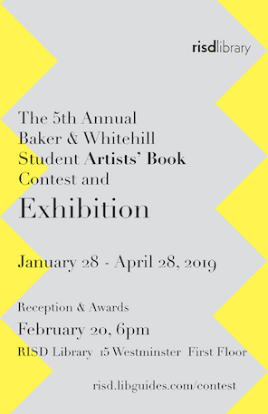 5th Student Artists Book Contest 2019 logo