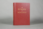 The School and Society by Benjamin Aron, Fleet Library, and Special Collections
