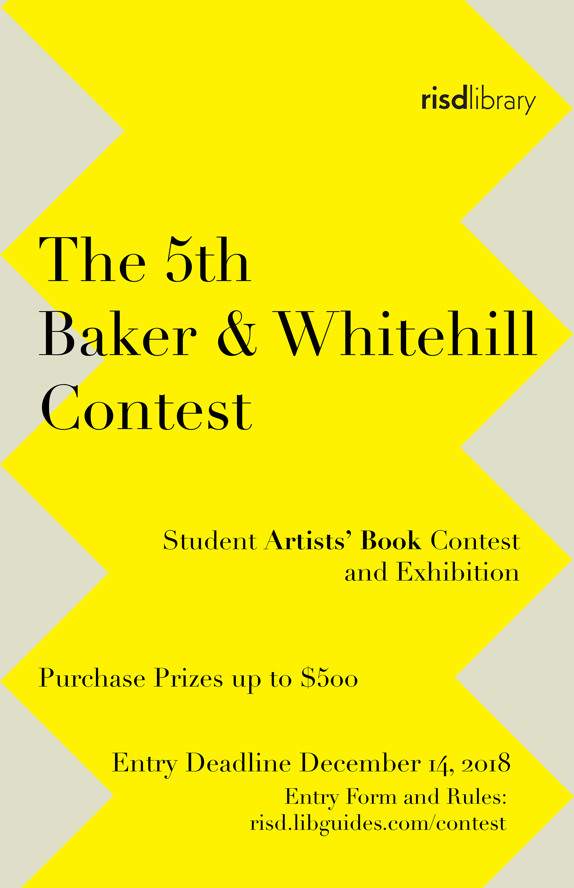 5th Baker & Whitehill Student Artists' Book Contest 2019 | Annual