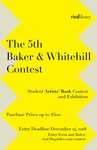 5th Baker & Whitehill Student Artists' Book Contest 2019 by Special Collections and RISD Library