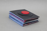 Red Disk by Nikki Klein, Special Collections, and RISD Library