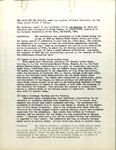 Art Caravan Report October 16, 1936