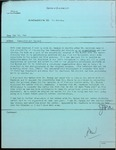 Memorandum May 12, 1943