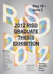 Graduate Thesis Exhibition 2012 by Campus Exhibitions and Graduate Studies