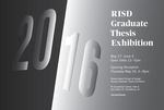 Graduate Thesis Exhibition 2016 by Campus Exhibitions