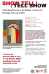 SHOW TELL / TELL SHOW: A Half-day of Events on the Subject of Exphrasis by Center for Arts and Language