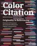 Color Citation Poster by Andy Law, Industrial Design Department, and RISD Color Lab