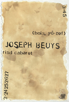 The Life and Times of Joseph Beuys (bois, yō-zef)