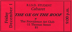 The Ox on the Roof Ticket, Red
