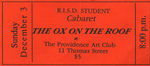 The Ox on the Roof Ticket, Orange