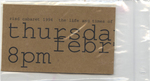 The Life and Times of Joseph Beuys Ticket, Prop Money (Front)