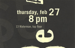 The Beat Generation Ticket (Front)