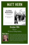 Global Warming and the Sweetness of Life : A Tar Sands Tale   Matt Hern by Liberal Arts Division and History, Philosophy, + the Social Sciences Department
