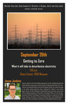 Getting to Zero: What it will take to decarbonize electricity   Jesse Jenkins by Liberal Arts Division