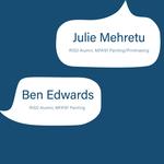 rizdeology | S1E4: Julie Mehretu & Benjamin Edwards