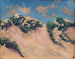 Sand Dunes, Block Island by Laura Browne and Fleet Library