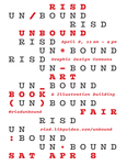 UNBOUND 2017 Poster by RISD Unbound and RISD Library