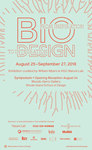 Biodesign: From Inspiration to Integration Poster by Nature Lab, RISD Co-Works, and Campus Exhibitions