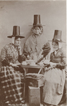 Welsh Tea Party by H. Mortimer Allen, Visual + Material Resources, and Fleet Library