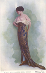Dinner Dress by Fleet Library, Visual + Material Resources, and Georges Doeuillet