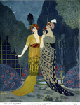 At Poiret's by Fleet Library, Visual + Material Resources, and George Barbier
