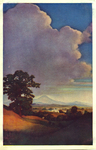 Untitled (Landscape with Clouds)