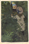 """""""They gazed as if they had known each other for ages of years"""" from """"In the Closed Room"""" by F.H. Burnett by Fleet Library, Visual + Material Resources, and Jessie Willcox Smith"""