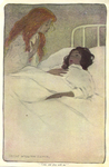 """""""Come and play with me"""" from """"In the Closed Room"""" by F.H. Burnett by Fleet Library, Visual + Material Resources, and Jessie Willcox Smith"""