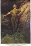 """Maude Adams as """"Peter Pan"""" in the play by J.M. Barrie"""