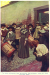 """""""At her appearing the multitude was hushed, awed by that air she wore"""", from """"The Hanging of Mary Dyer"""" by Basil King"""