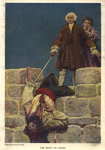 """The Death of Cazaio, from """"In the Second April"""" by James Branch Cabell by Fleet Library, Visual + Material Resources, and Howard Pyle"""