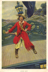 """""""Captain Keitt"""" from """"The Ruby of Kishmoor"""" by Fleet Library, Visual + Material Resources, and Howard Pyle"""