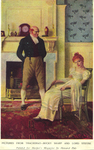Pictures from Thackeray--Becky Sharp and Lord Steyne by Fleet Library, Visual + Material Resources, and Howard Pyle