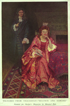 """Pictures from Thackeray--""""Beatrix and Esmond"""" by Fleet Library, Visual + Material Resources, and Howard Pyle"""