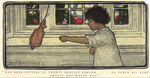 """""""Had been getting up twenty minutes earlier...to punch his Aunt Emily's hot-water bag"""", from """"The Method of Charles Stuart York"""" by Fleet Library, Visual + Material Resources, and Jessie Wilcox Smith"""
