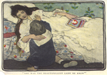 """""""She was the most beautifullest lady he knew"""", from """"The Method of Charles Stuart York"""" by Fleet Library, Visual + Material Resources, and Jessie Willcox Smith"""