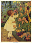 """""""Smelling"""" from """"The Five Senses, by Charles W. Beck, Jr. by Fleet Library, Visual + Material Resources, and Jessie Willcox Smith"""